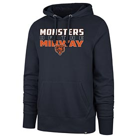 Chicago Bears Monsters of the Midway Pullover Hooded Sweatshirt