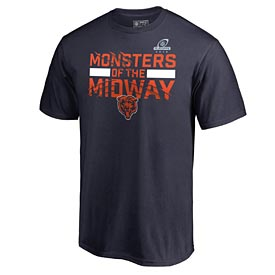 Chicago Bears 2018 Playoffs Monsters of the Midway Tee