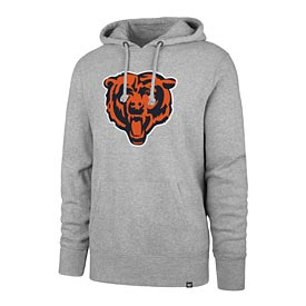 Chicago Bears Bear Head Pullover Hooded Sweatshirt