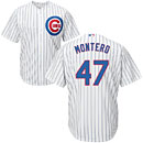 Chicago Cubs Miguel Montero Home Cool Base Replica Jersey