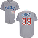Chicago Cubs Jason Hammel Authentic Road Jersey