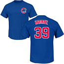 Chicago Cubs Jason Hammel Name and Number T-Shirt