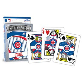 Chicago Cubs Playing Cards