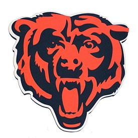Chicago Bears 3D Foam Sign