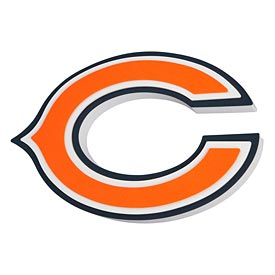 Chicago Bears 3D Foam Magnet