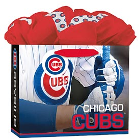 Chicago Cubs Medium Grab and Go Gift Bag