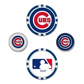 Chicago Cubs 4pk Ball Markers