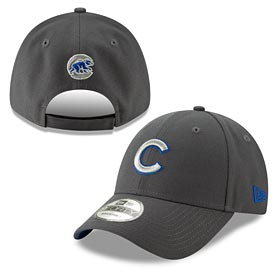 Chicago Cubs Youth The League Graphite 940 Adj