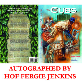 Autographed Fergie Jenkins 1969 Cubs Book