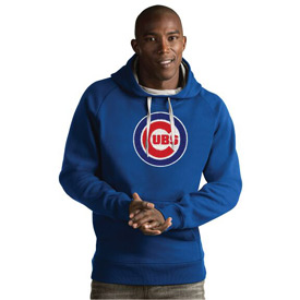 Chicago Cubs Bullseye Victory Hooded Pullover