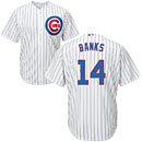 Chicago Cubs Ernie Banks Youth Home Cool Base Replica Jersey