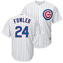 Chicago Cubs Dexter Fowler Youth Home Cool Base Replica Jersey