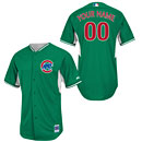 Chicago Cubs Customized Celtic Batting Practice Performance Jersey