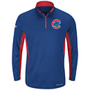 Chicago Cubs Youth Check Swing Pullover Jacket