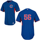 Chicago Cubs Hector Rondon Authentic Batting Practice Jersey