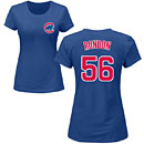 Chicago Cubs Hector Rondon Ladies Name and Number T-Shirt