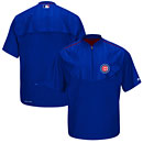 Chicago Cubs On-Field Training Half Zip Pullover Jacket