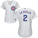 Chicago Cubs Tommy La Stella Ladies Home Cool Base Replica Jersey
