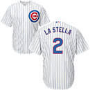 Chicago Cubs Tommy La Stella Youth Home Cool Base Replica Jersey