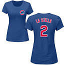 Chicago Cubs Tommy La Stella Ladies Name and Number T-Shirt