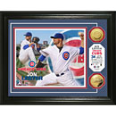 Chicago Cubs Jon Lester Gold Coin Photo Mint