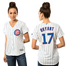 Chicago Cubs Kris Bryant Ladies Home Cool Base Replica Jersey