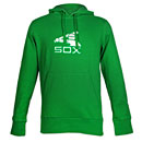 Chicago White Sox Kelly Green Batterman Hooded Sweatshirt