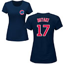 Chicago Cubs Kris Bryant Navy Ladies Name and Number T-Shirt