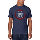Chicago Cubs Angry Bear Scrum T-Shirt
