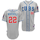 Chicago Cubs Addison Russell Alternate Road Authentic Cool Base Jersey