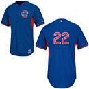 Chicago Cubs Addison Russell Authentic Batting Practice Jersey