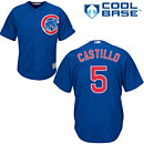Chicago Cubs Wellington Castillo Youth Alternate Cool Base Replica Jersey