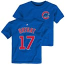 Chicago Cubs Kris Bryant Toddler Name and Number T-Shirt