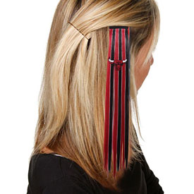 Chicago Bulls Ladies Extension Hair Clip