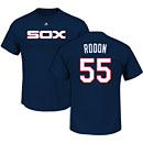 Chicago White Sox Carlos Rodon Cooperstown Name and Number T-Shirt