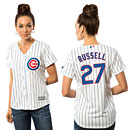 Chicago Cubs Addison Russell Ladies Home Cool Base Replica Jersey