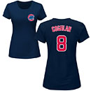 Chicago Cubs Chris Coghlan Ladies Navy Name and Number T-Shirt