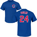 Chicago Cubs Dexter Fowler Name and Number T-Shirt