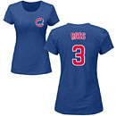 Chicago Cubs David Ross Ladies Name and Number T-Shirt