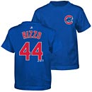 Chicago Cubs Anthony Rizzo Preschool Name and Number T-Shirt