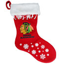 Chicago Blackhawks Snowflake Stocking