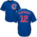 Chicago Cubs Kyle Schwarber Youth Alternate Cool Base Replica Jersey