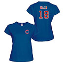 Chicago Cubs Tsuyoshi Wada Ladies Name and Number T-Shirt