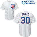Chicago Cubs Jason Motte Youth Home Cool Base Replica Jersey