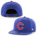 Chicago Cubs Youth No Shot Captain Snapback Adjustable Cap