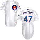 Chicago Cubs Miguel Montero Home Authentic Cool Base Jersey