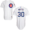 Chicago Cubs Jason Motte Home Authentic Cool Base Jersey