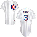 Chicago Cubs David Ross Home Authentic Cool Base Jersey