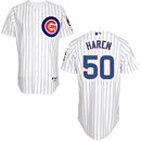Chicago Cubs Dan Haren Home Authentic Cool Base Jersey