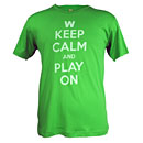 Wrigley Field Keep Calm and Play On T-Shirt